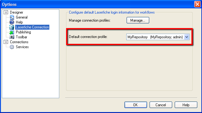 2010-09-13 - Default Connection Profile