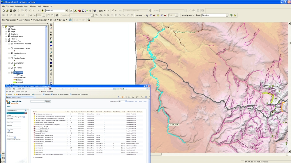 Isfdss ArcMap