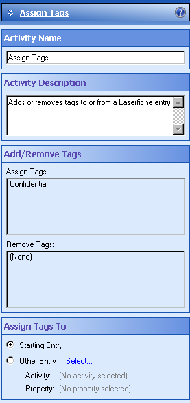 Assign Tags