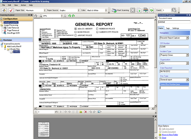 Departmental Records | Ada County Sheriff's Office