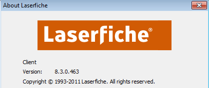 Troubleshooting Laserfiche Client