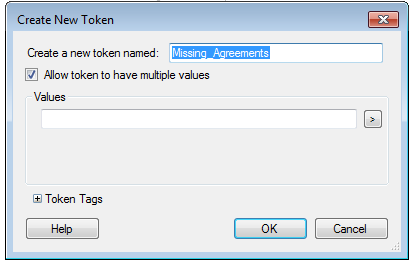 Assign Token Values