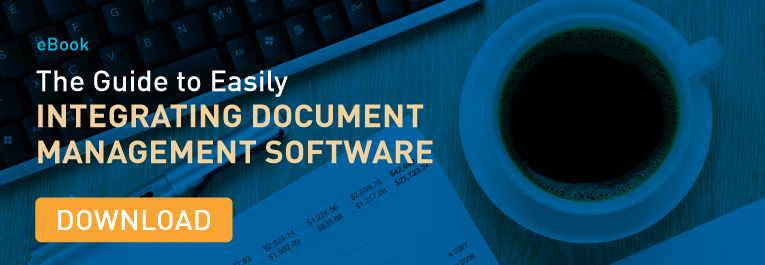 Guide to Integrating Document Management Software Banner