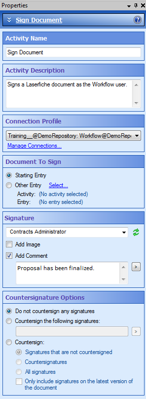 """Sign Document"""