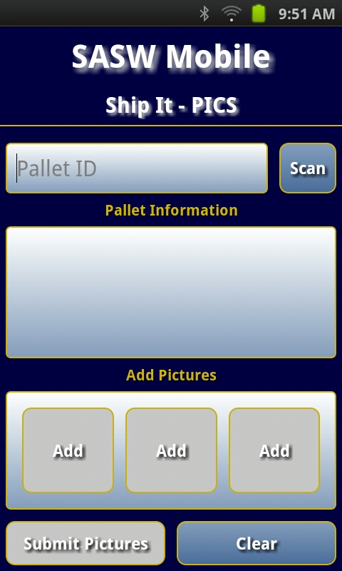 Pallet Image Collection System (Pics)