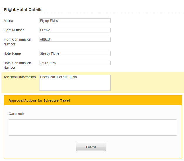 Travel Requests Process With Laserfiche