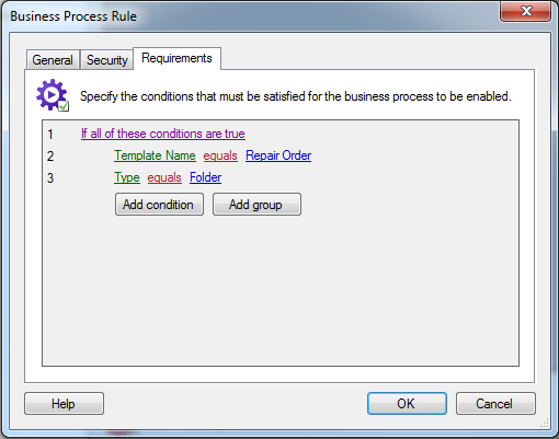 Laserfiche Workflow Rule Manager