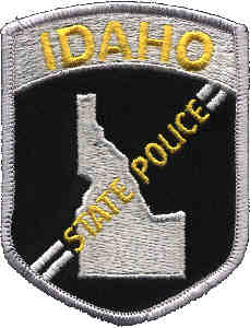 idaho state police patch