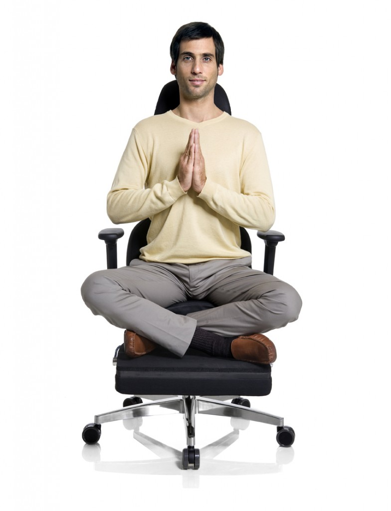 office chair yoga