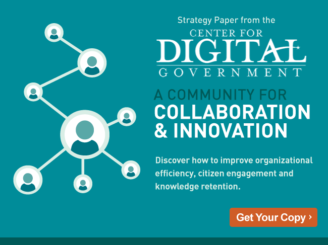 Community of Practice - Center for Digital Government White Paper