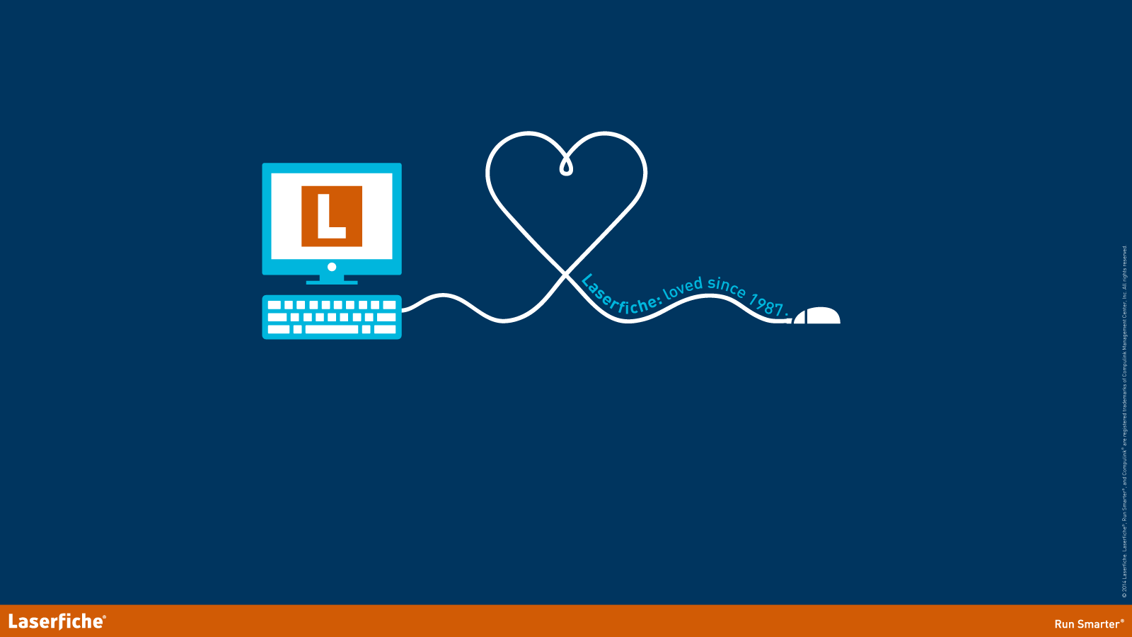 show your laserfiche pride with our new wallpapers