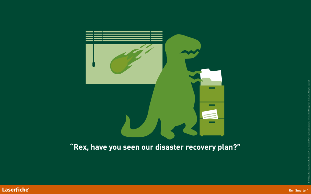 Laserfiche disaster recovery wallpaper
