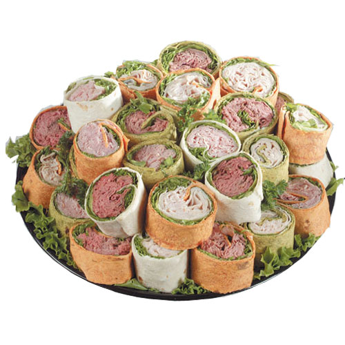 turkey wrap platter