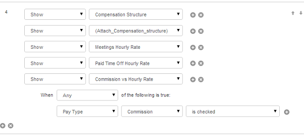 Setting field rules for HR onboarding flow with Laserfiche forms