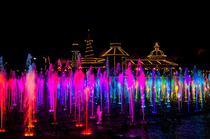 World of Color at Disney California Adventure Park.