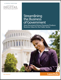 Streamlining the Business of Government
