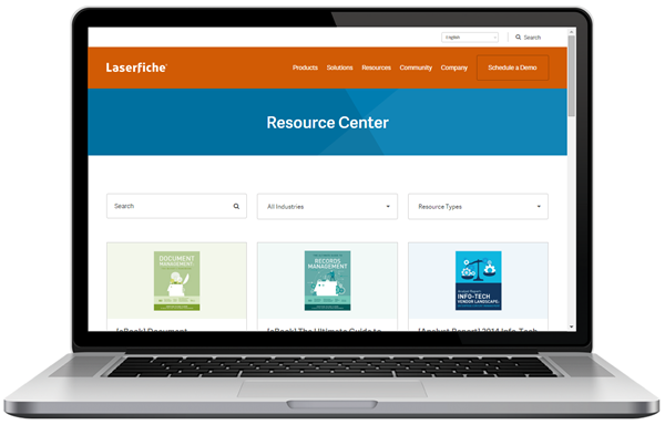 New Laserfiche Resource Center