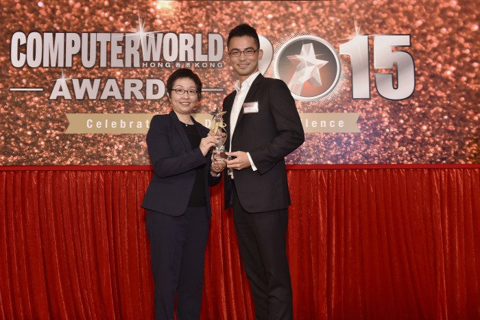 Sean Tang LF VP Top ECM Solution Award