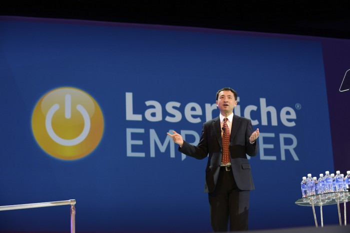 Laserfiche President Karl Chan discusses the connected digital workplace in his keynote speech at Empower 2016.