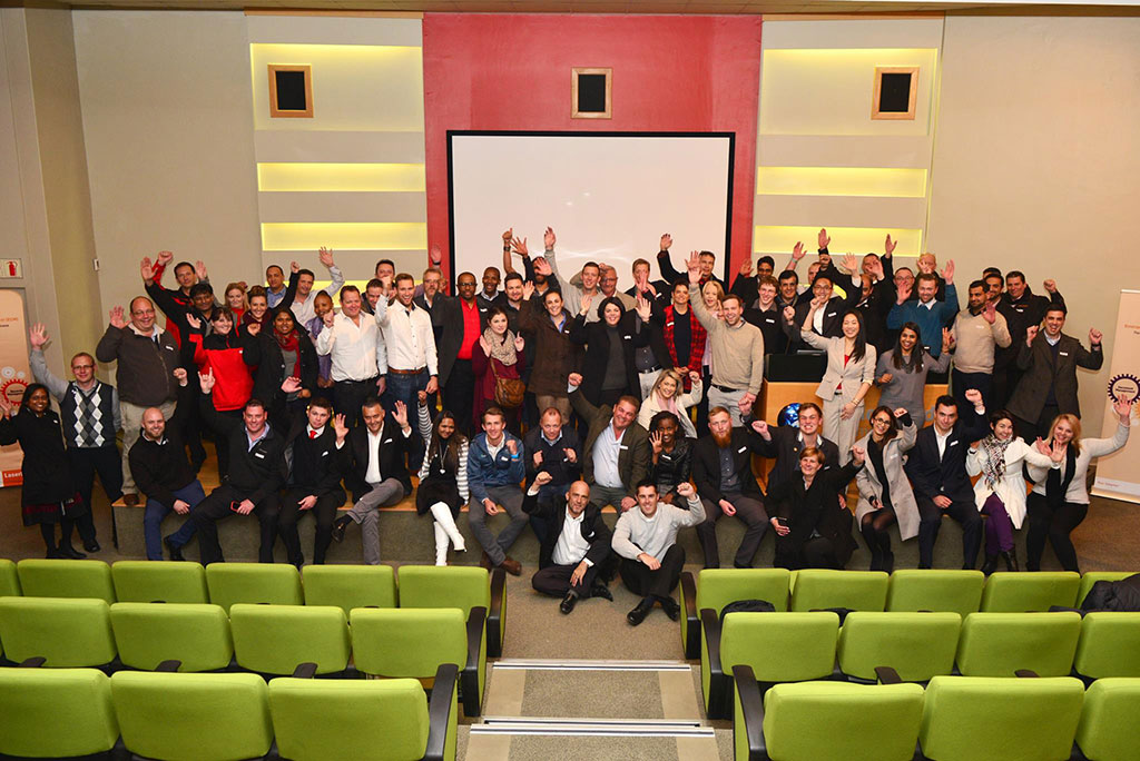 International #FicheFriends at the 2016 User Group in South Africa.