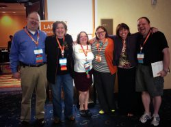 "The ""League of Laserfiche"": Melissa Henley and #FicheFriends gather at Empower 2016."