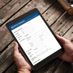 Laserfiche electronic forms on an iPad