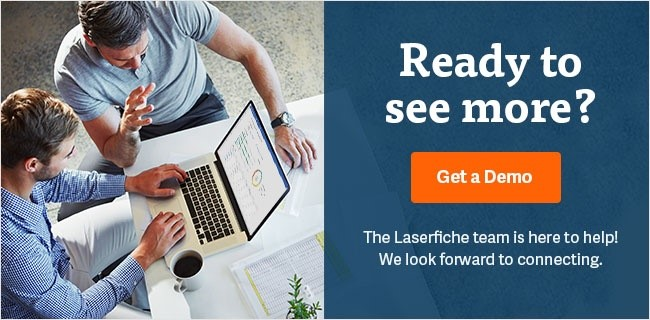 schedule a demo laserfiche document management software