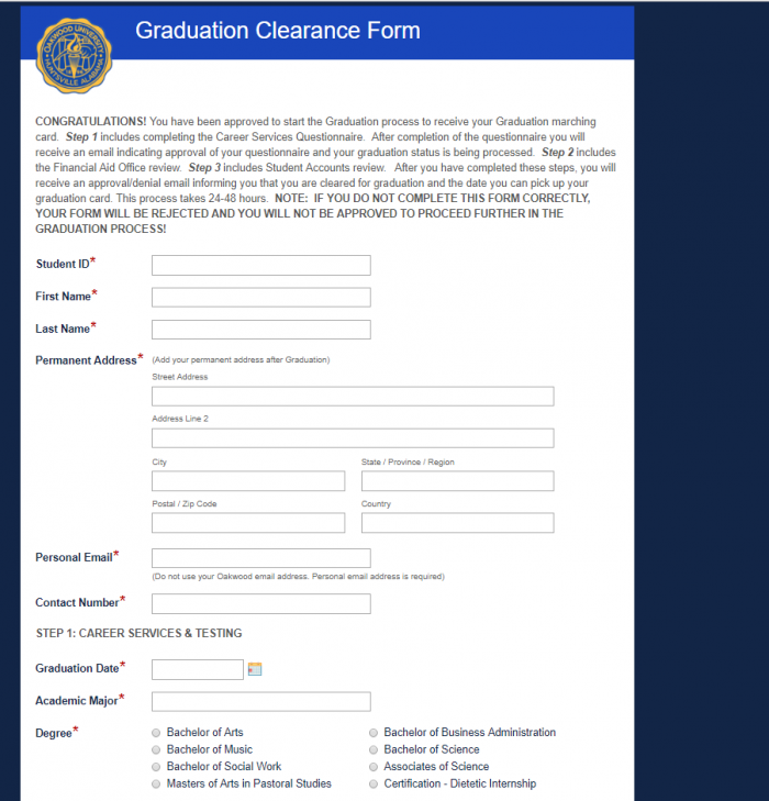 How Oakwood University Streamlined the Graduation Clearance
