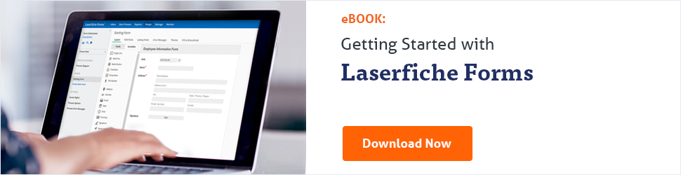 Download the free guide to Laserfiche Forms