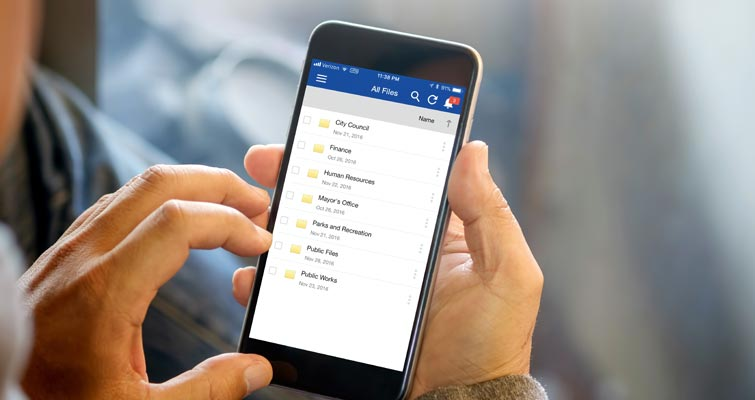 Getting Started with the Laserfiche Mobile App