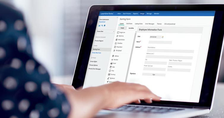 Getting Started with Laserfiche Forms